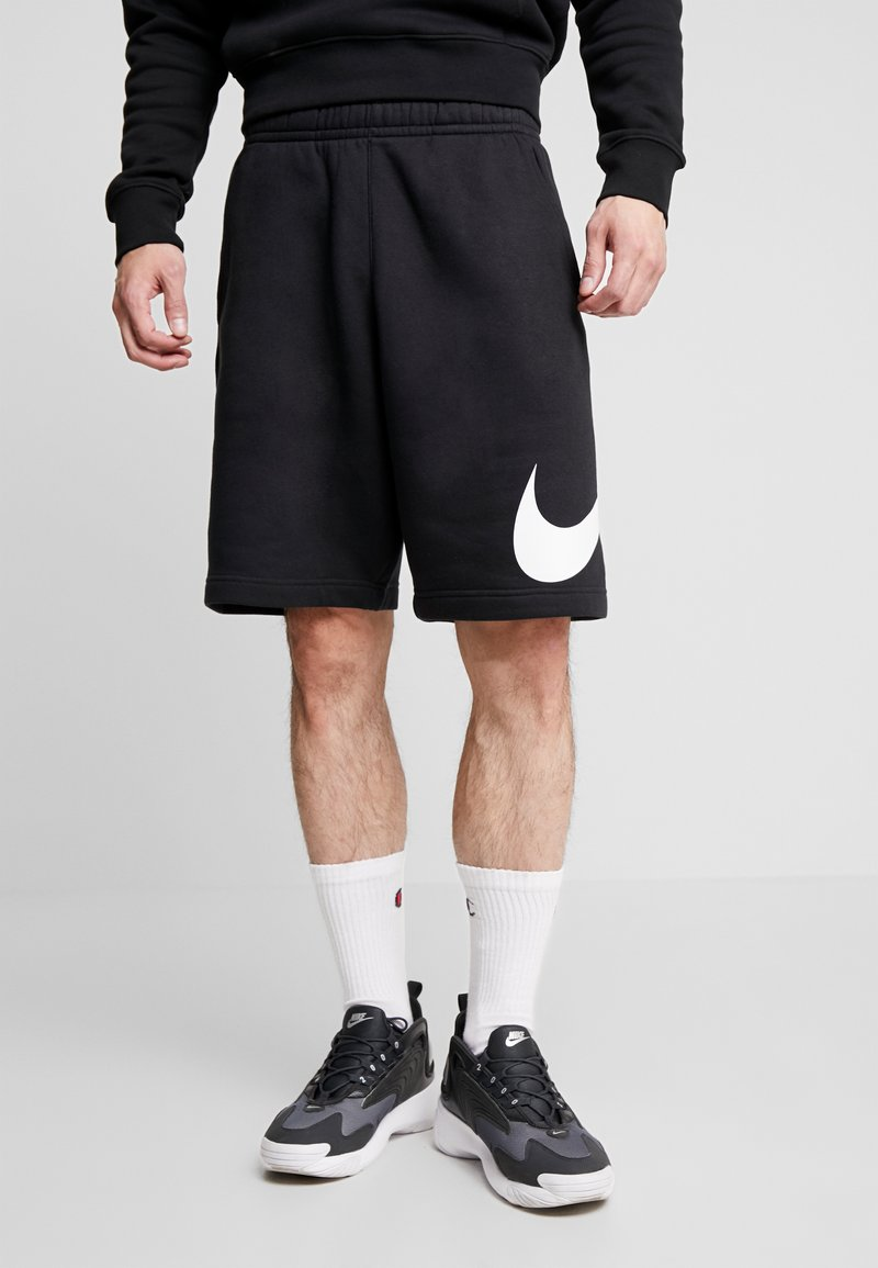 Nike Sportswear - Shortsit - black/white
