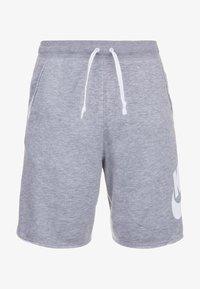 Nike Sportswear - ALUMNI  - Shorts - grey/white - 0
