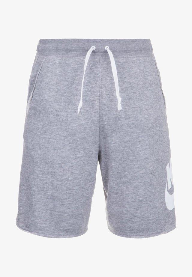 ALUMNI  - Shorts - grey/white