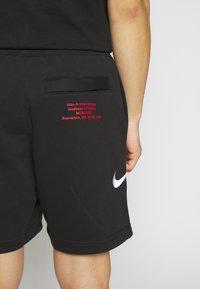 Nike Sportswear - Træningsbukser - black/white - 5