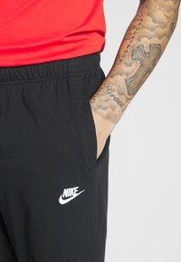 Nike Sportswear - CLUB - Szorty - black/white - 5