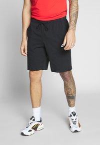 Nike Sportswear - CLUB - Szorty - black/white - 0