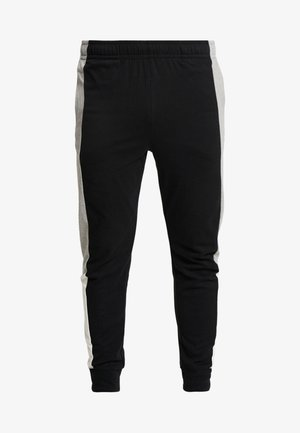 Tracksuit bottoms - black/grey heather