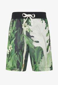 Nike Sportswear - ALUMNI SHORT FLORAL - Tracksuit bottoms - spruce aura - 5