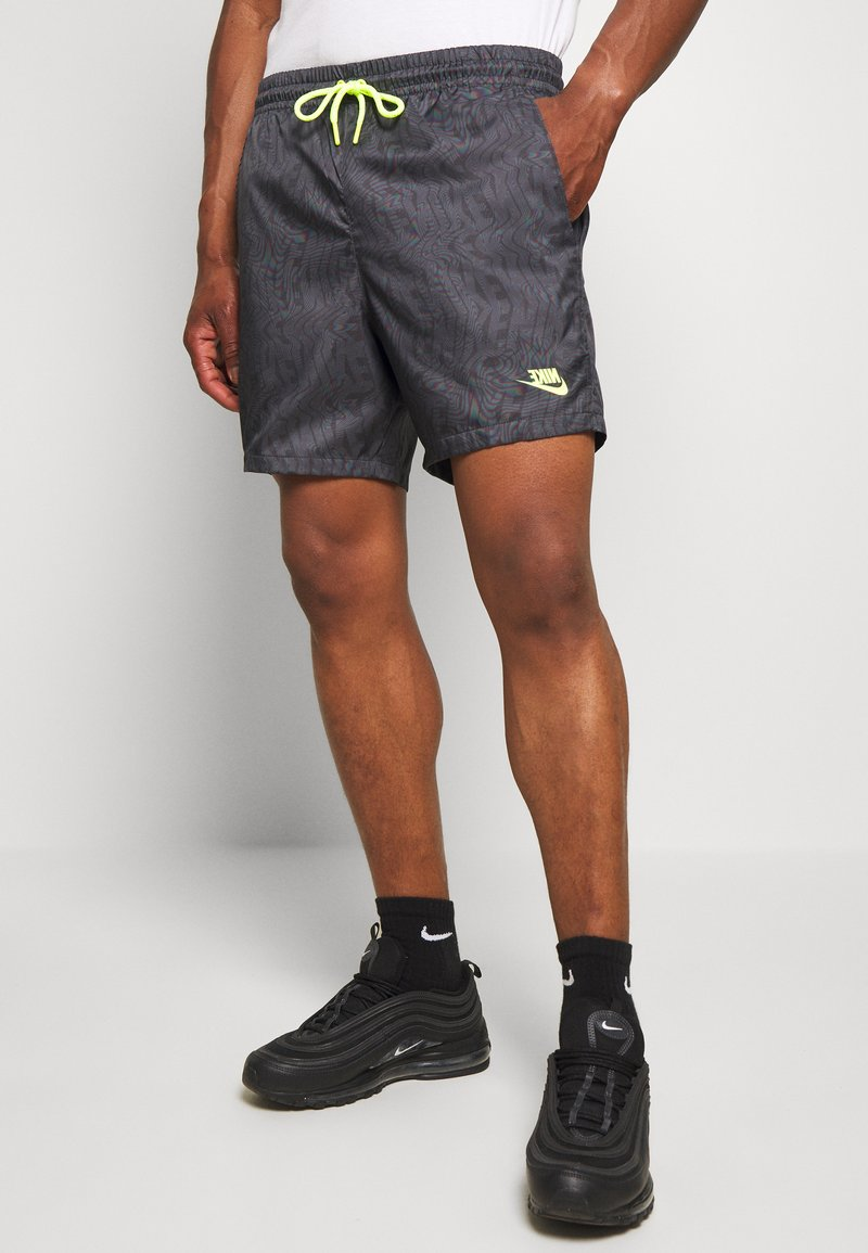 Nike Sportswear - FESTIVAL  - Shorts - dk smoke grey/volt