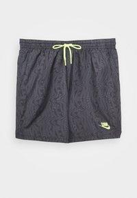 Nike Sportswear - FESTIVAL  - Shorts - dk smoke grey/volt - 4