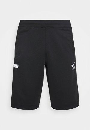 Shorts - black/smoke grey/white
