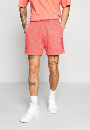 WASH - Teplákové kalhoty - magic ember/sail