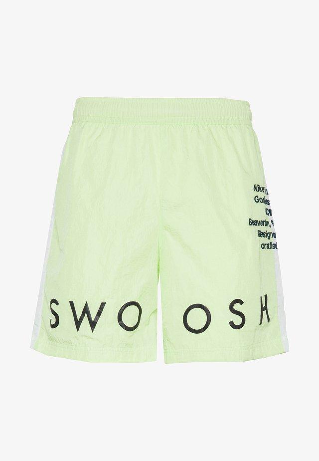 Shorts - barely volt/white