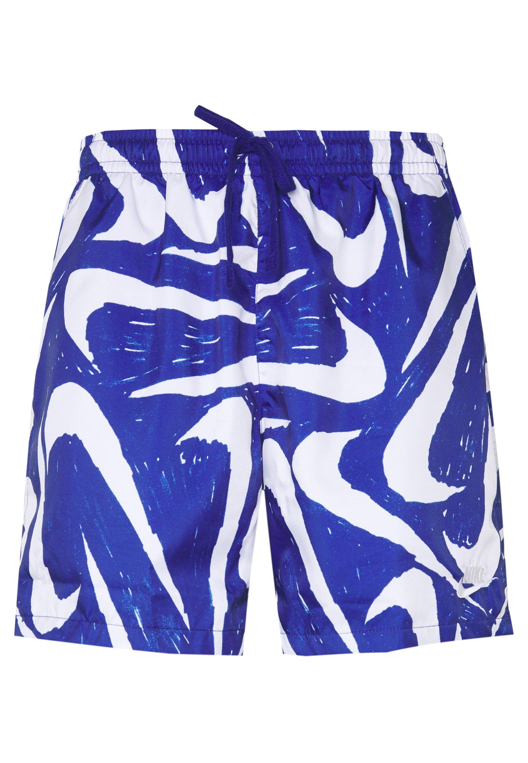 Nike Sportswear Flow - Shorts Deep Royal Blue/white