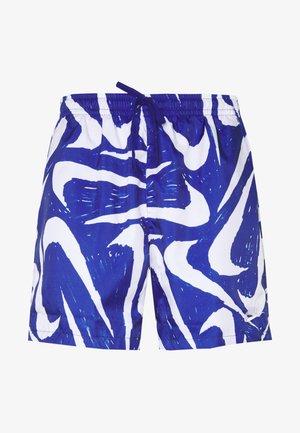 FLOW - Shorts - deep royal blue/white