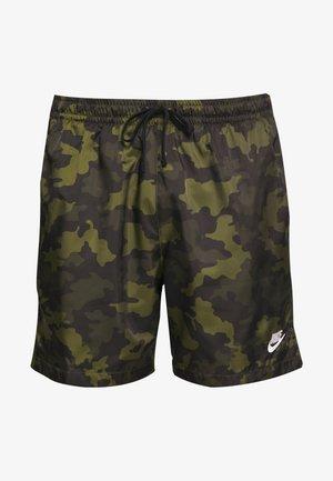 FLOW  - Shorts - legion green/black/treeline
