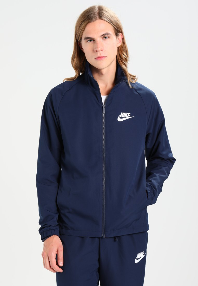 Nike Sportswear - SUIT BASIC - Trainingsanzug - obsidian/white