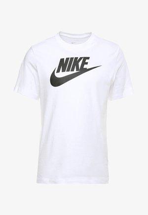 TEE ICON FUTURA - Camiseta estampada - white/black