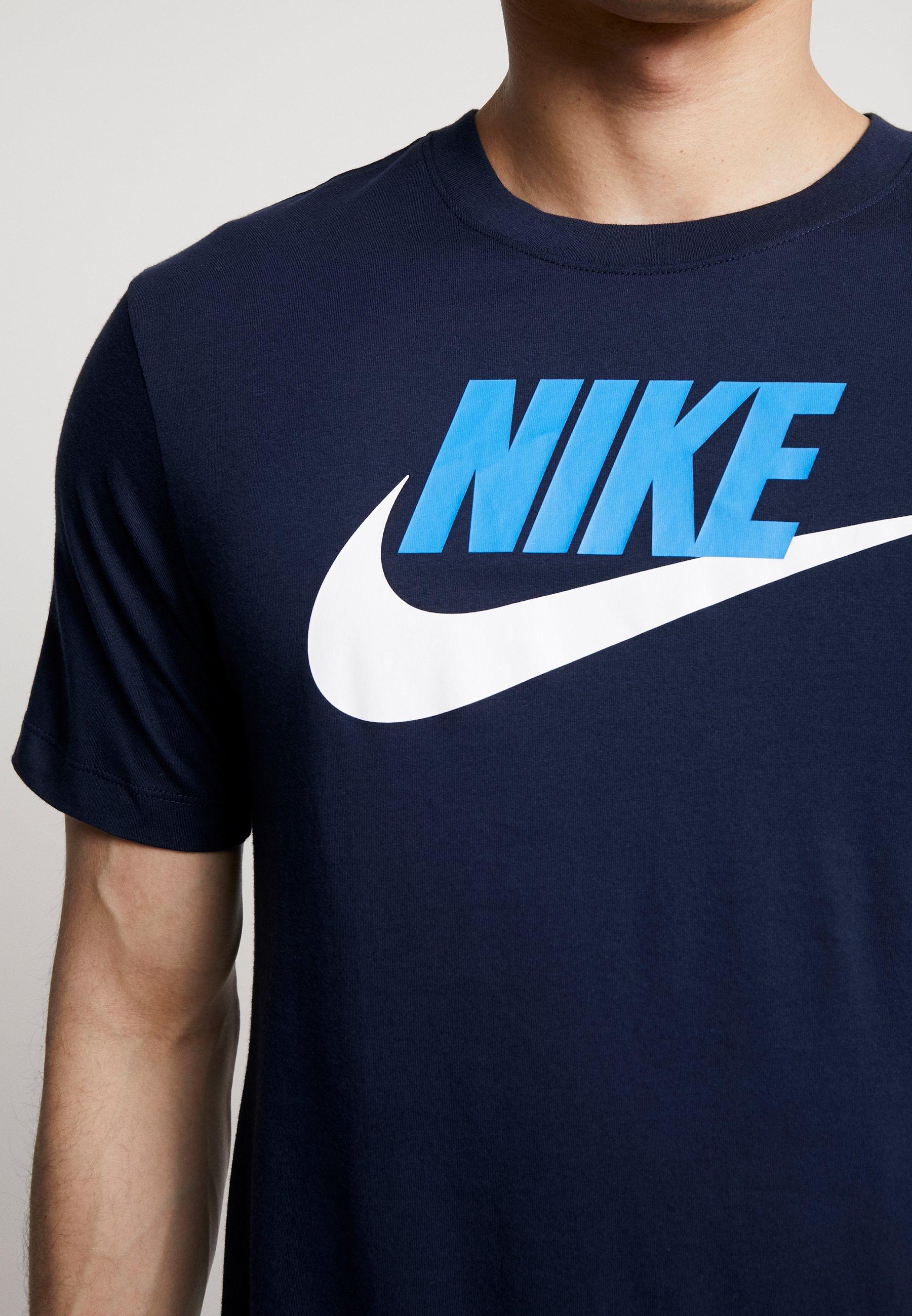 Nike Sportswear TEE ICON FUTURA T shirt imprimé black