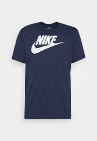 Nike Sportswear - TEE ICON FUTURA - T-shirt con stampa - midnight navy/white - 4