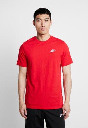 CLUB TEE - Camiseta básica - university red/white