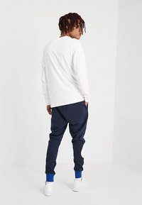 Nike Sportswear - Long sleeved top - white/black - 2