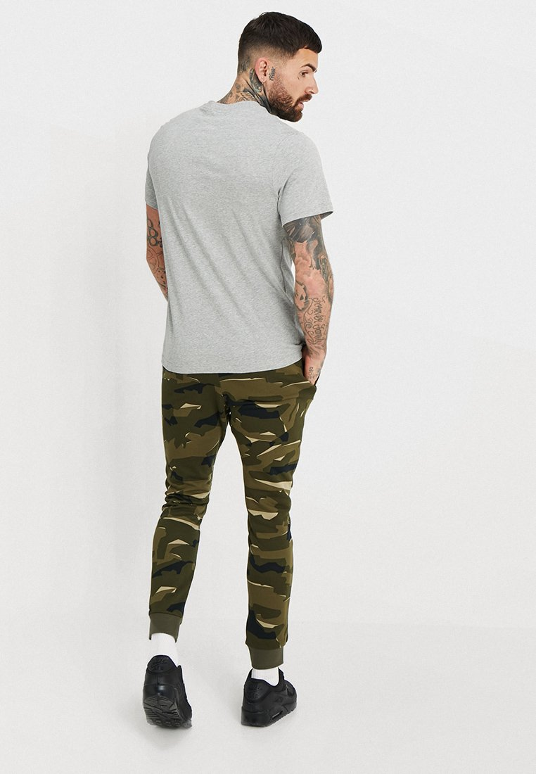 Nike Sportswear Tee Just Do It - T-shirt Imprimé Grey Heather