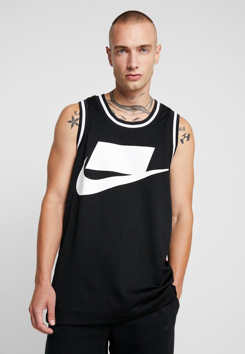 Nike Sportswear - TANK CHECK - Top - black/white