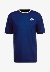 Nike Sportswear - TOP CHECK - T-Shirt print - blue void/royal blue/white - 3