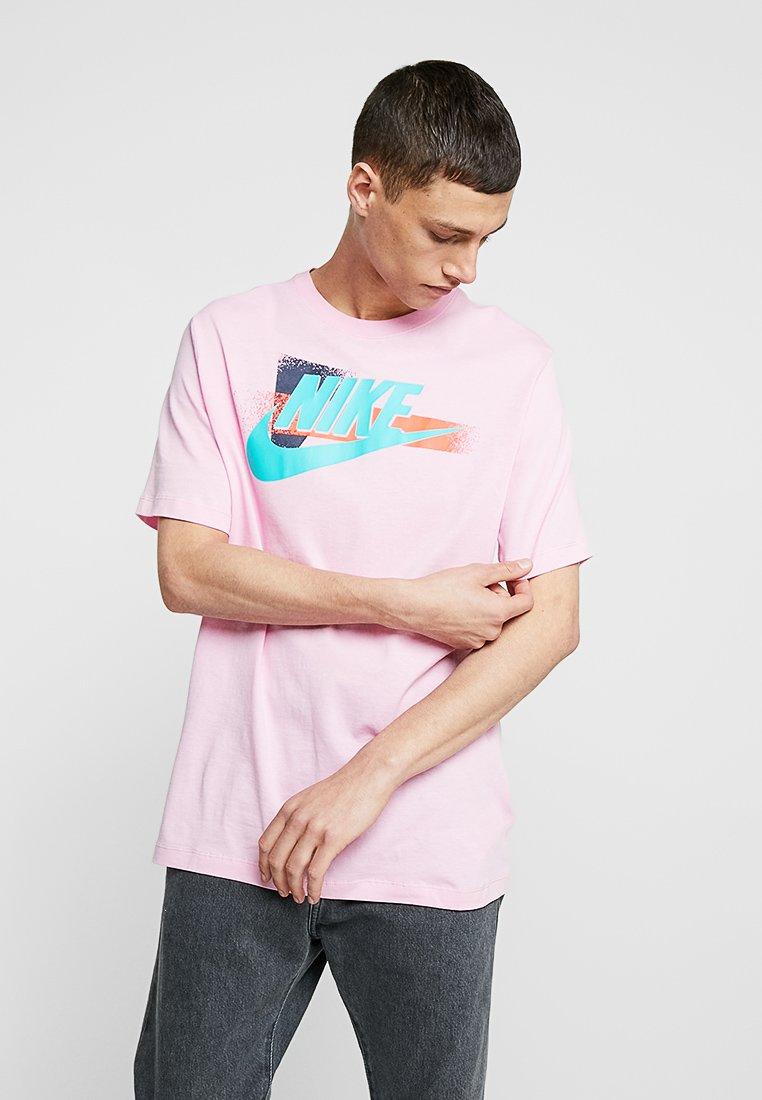 Nike Sportswear - TEE FESTIVAL - Print T-shirt - pink rise