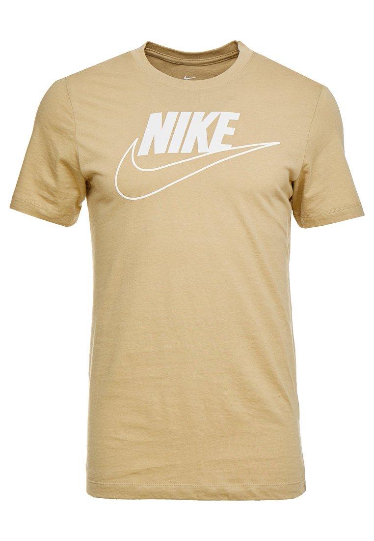 TEE ICON FUTURA SLIM T shirt imprimé parachute beige