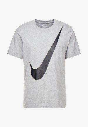 TEE  - T-shirt print - dark grey heather/black
