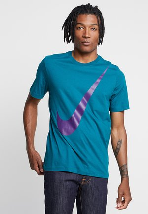 TEE  - T-shirt con stampa - geode teal/court purple