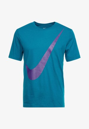 TEE  - T-shirts med print - geode teal/court purple
