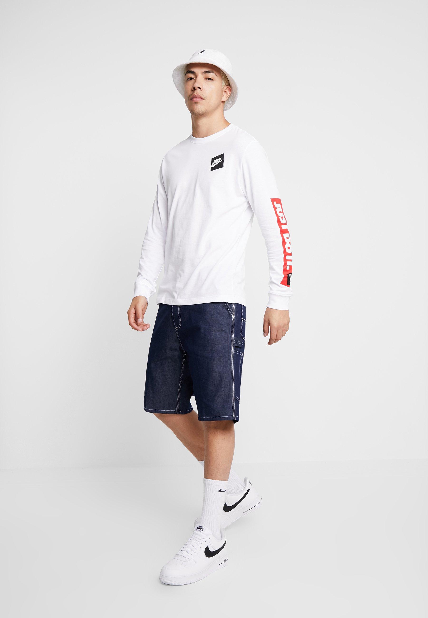 Nike Sportswear TEE - Bluzka z długim rękawem - white
