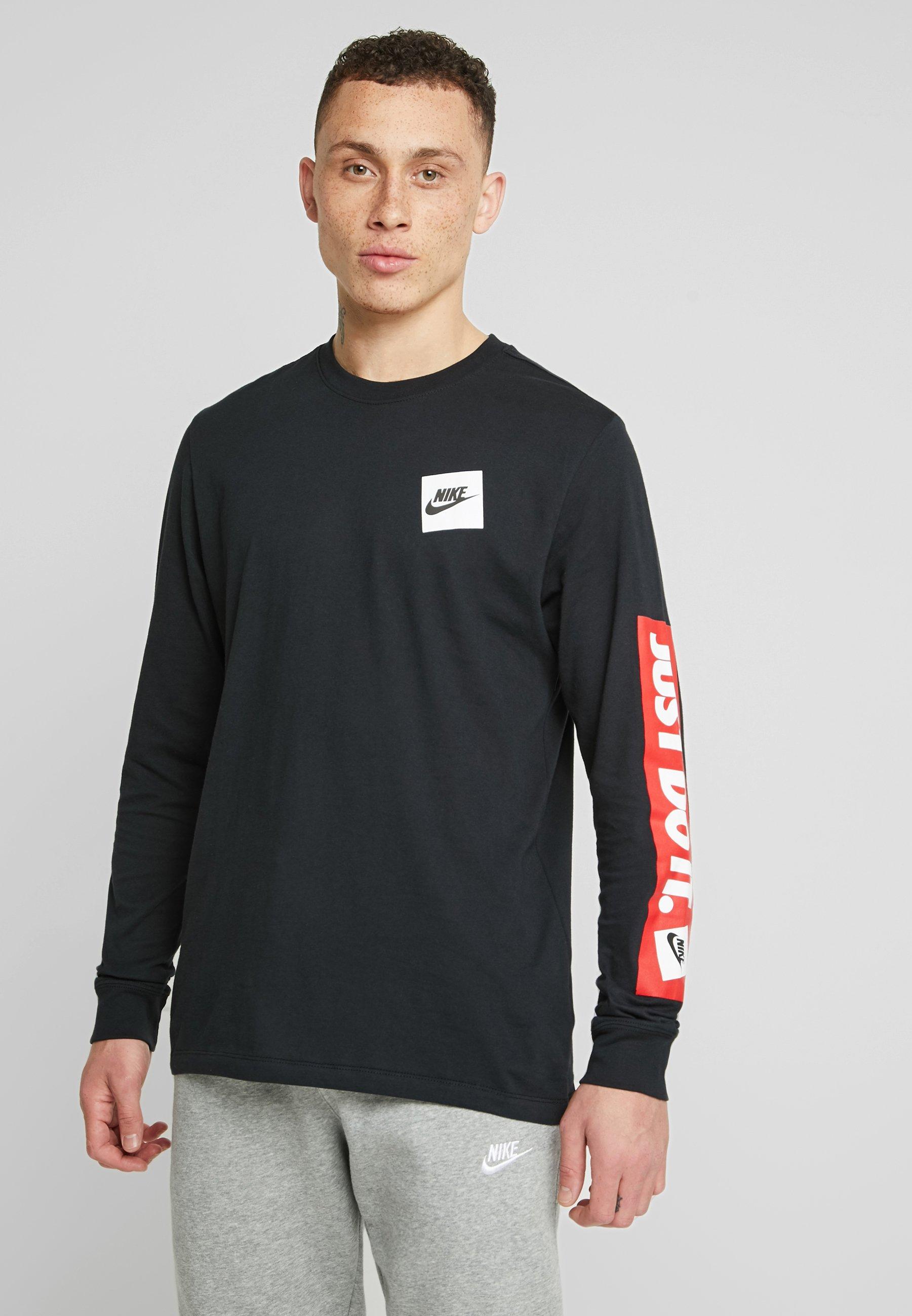 Nike Sportswear TEE - Bluzka z długim rękawem - black