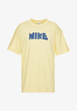 TEE CLASSICS - Print T-shirt - bicycle yellow/midnight navy