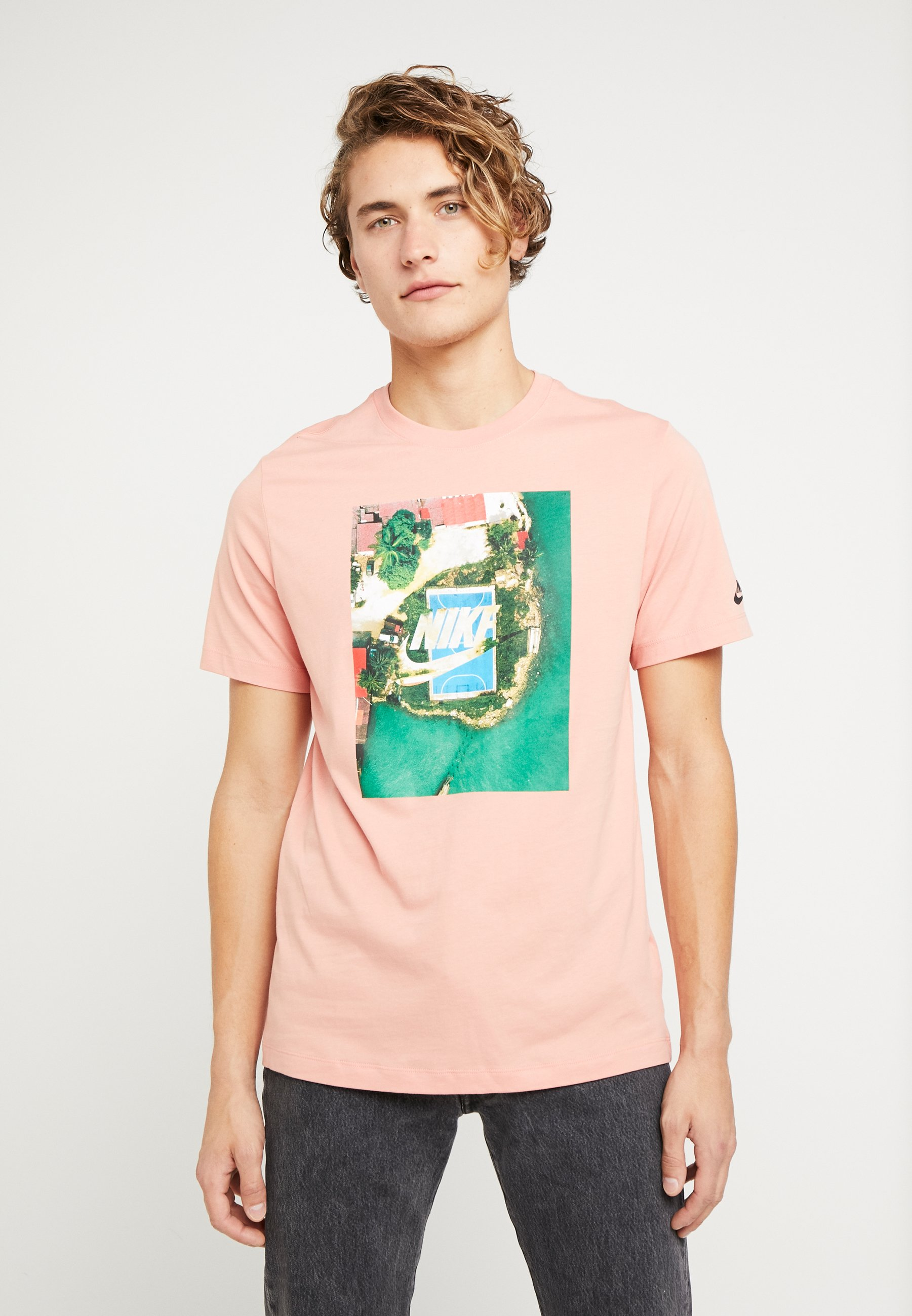 quartz TEE pink COURTT print Sportswear Shirt Nike DYWH2E9I