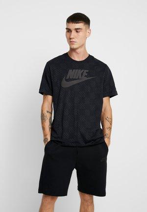 TEE TRIPLE - T-shirt imprimé - black