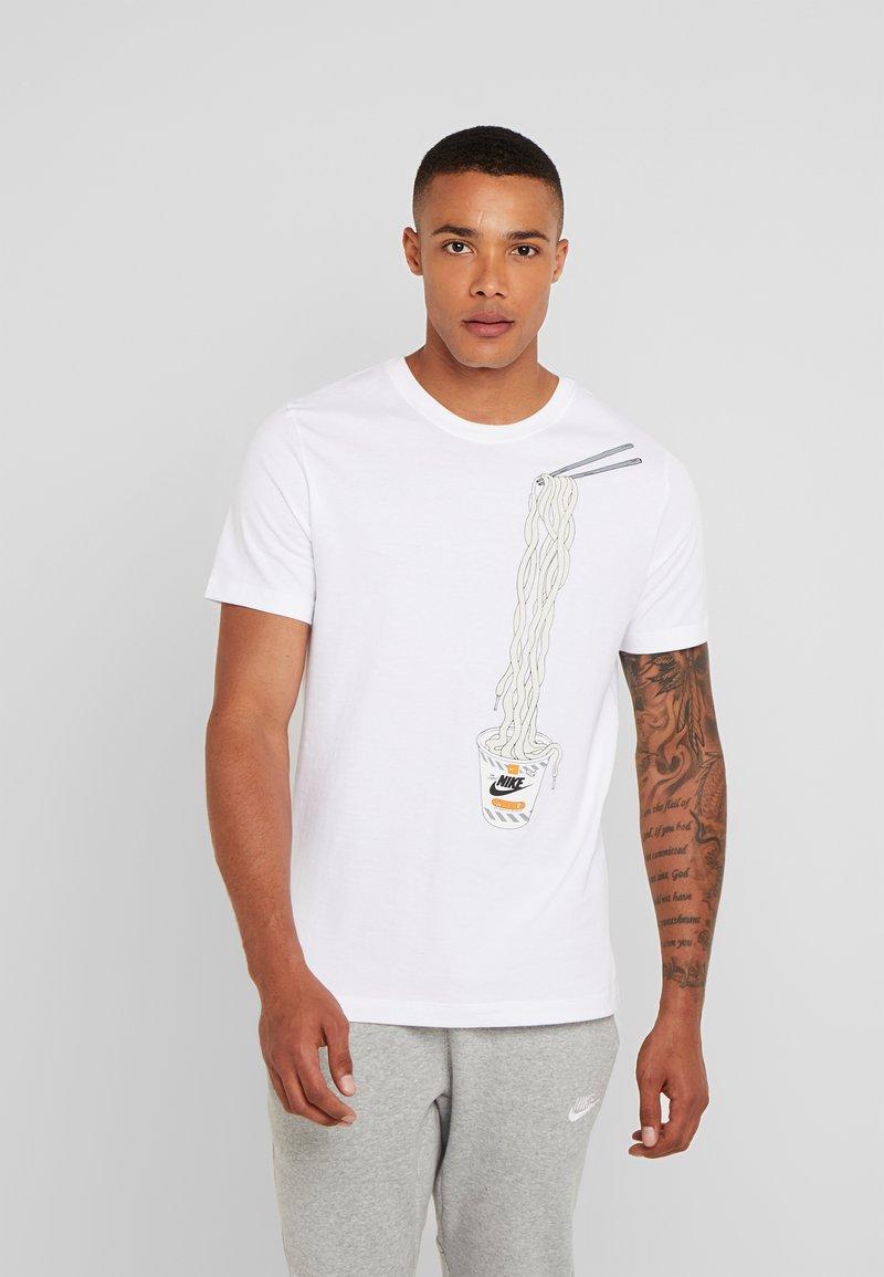 Nike Sportswear - T-shirts print - white