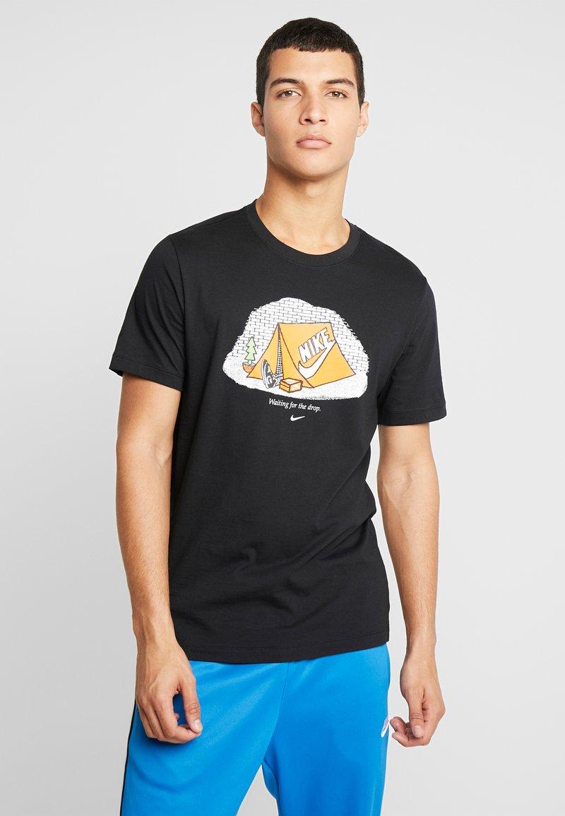Nike Sportswear - TEE - T-Shirt print - black