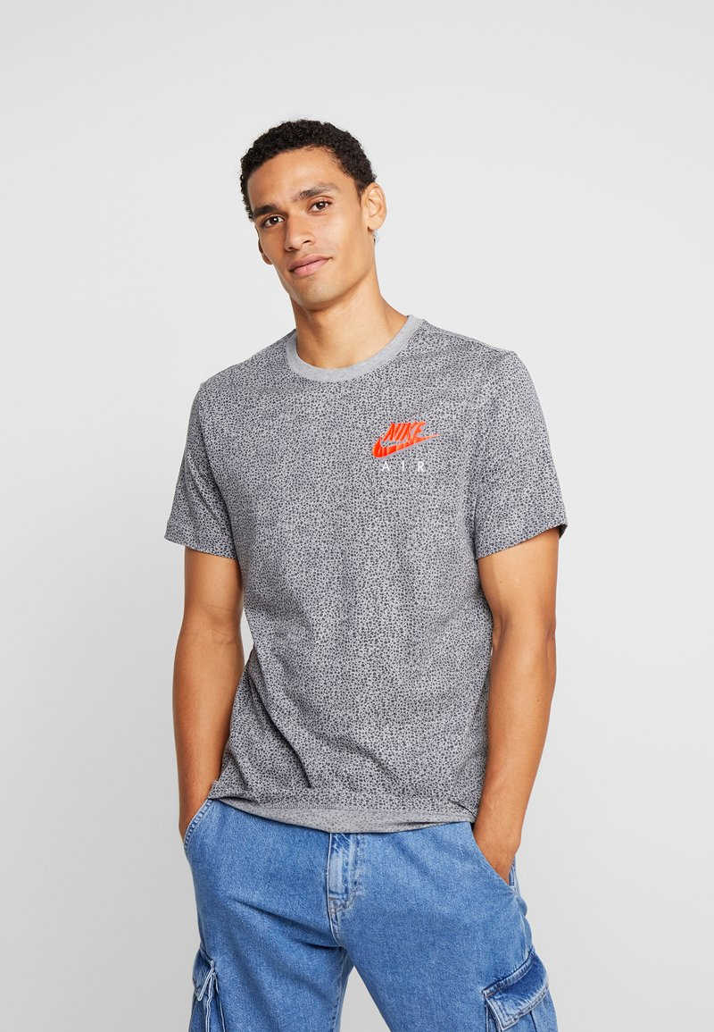 Nike Sportswear - TEE  AIR - T-shirt imprimé - grey heather