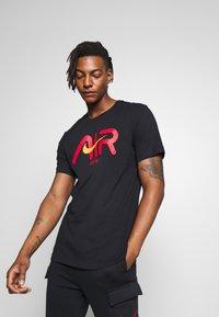 Nike Sportswear - TEE - T-shirt imprimé - black - 0