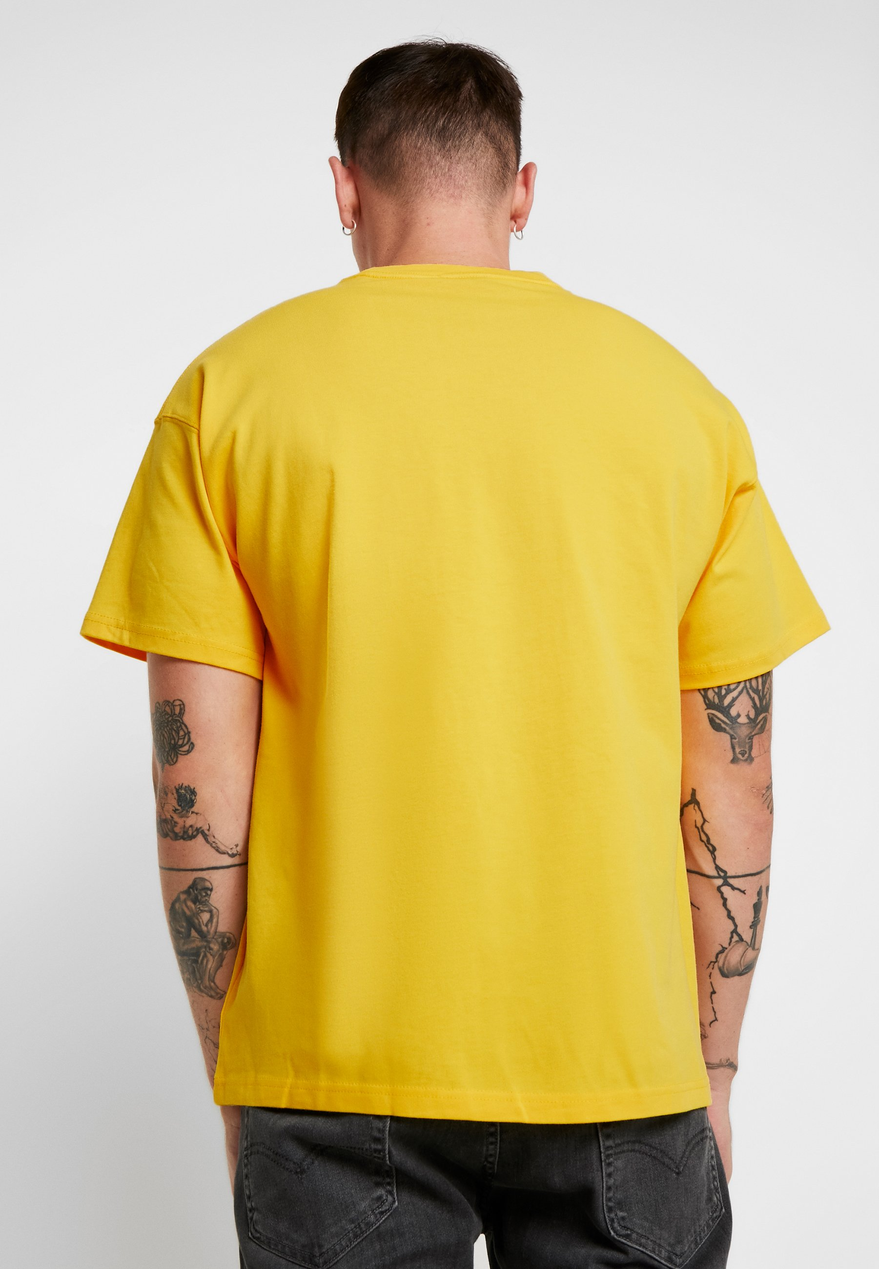 Imprimé shirt Sportswear Nike Tee LogoT Amarillo YgyIvbfm76