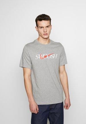 PACK TEE - T-shirt imprimé - dark grey heather