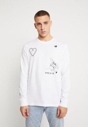 TEE - Pitkähihainen paita - white