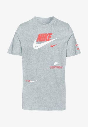 TEE - T-shirt med print - grey heather