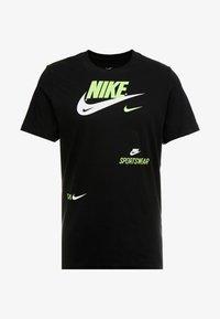 Nike Sportswear - TEE - T-shirts med print - black - 5