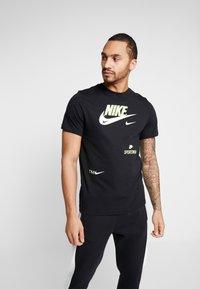 Nike Sportswear - TEE - Triko spotiskem - black - 0