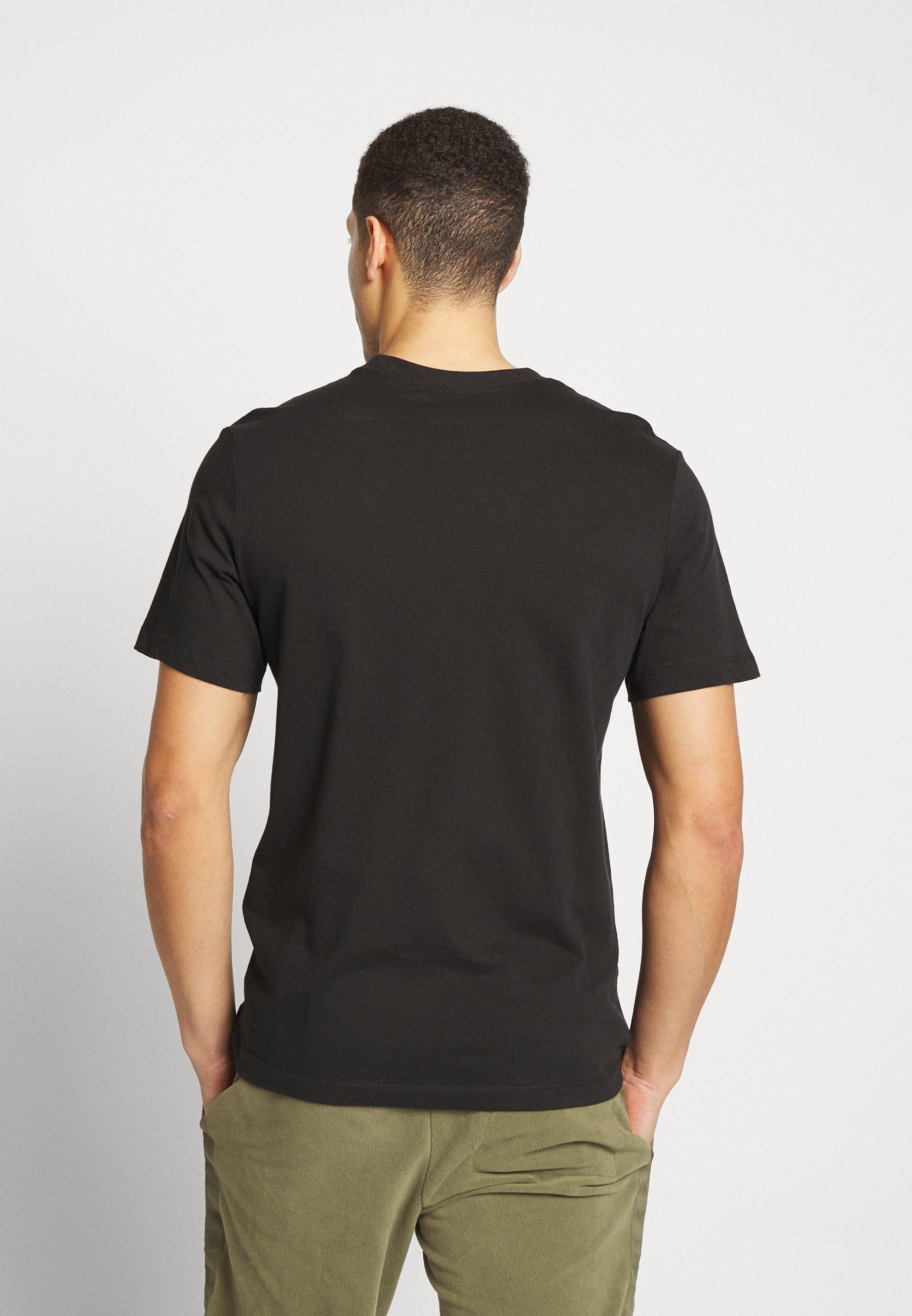 Nike Sportswear AIR TEE - T-shirt z nadrukiem - black