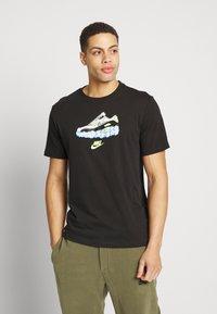 Nike Sportswear - AIR TEE - T-shirt imprimé - black - 0