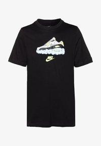 Nike Sportswear - AIR TEE - T-shirt imprimé - black - 3