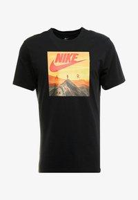 Nike Sportswear - AIR PHOTO - T-shirt con stampa - black - 3