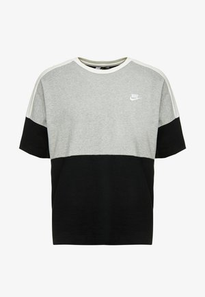 TOP  - T-shirts med print - black/grey/white